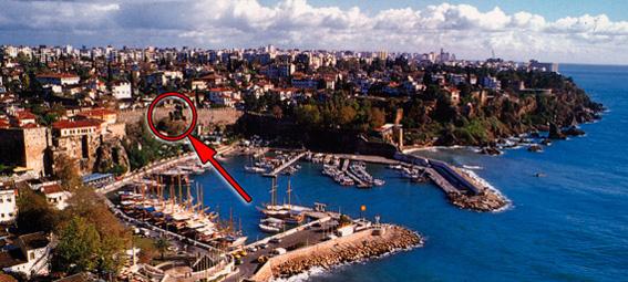 старый город, крепость и порт