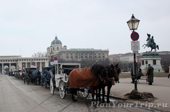 Экипажи в Вене
