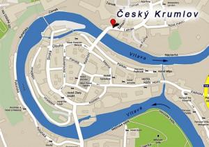 Карта Крумлова