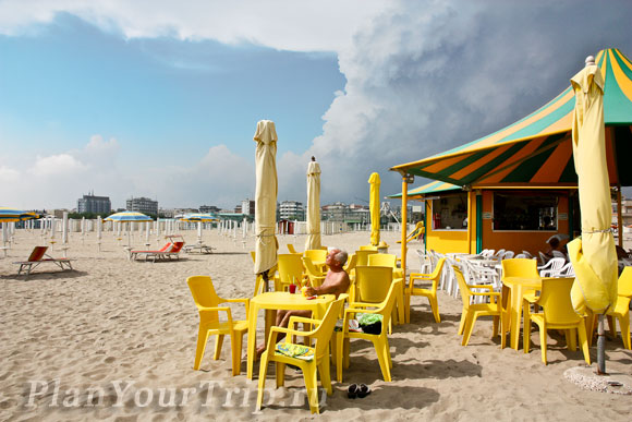 Пляж Соттомарины. Понедельник